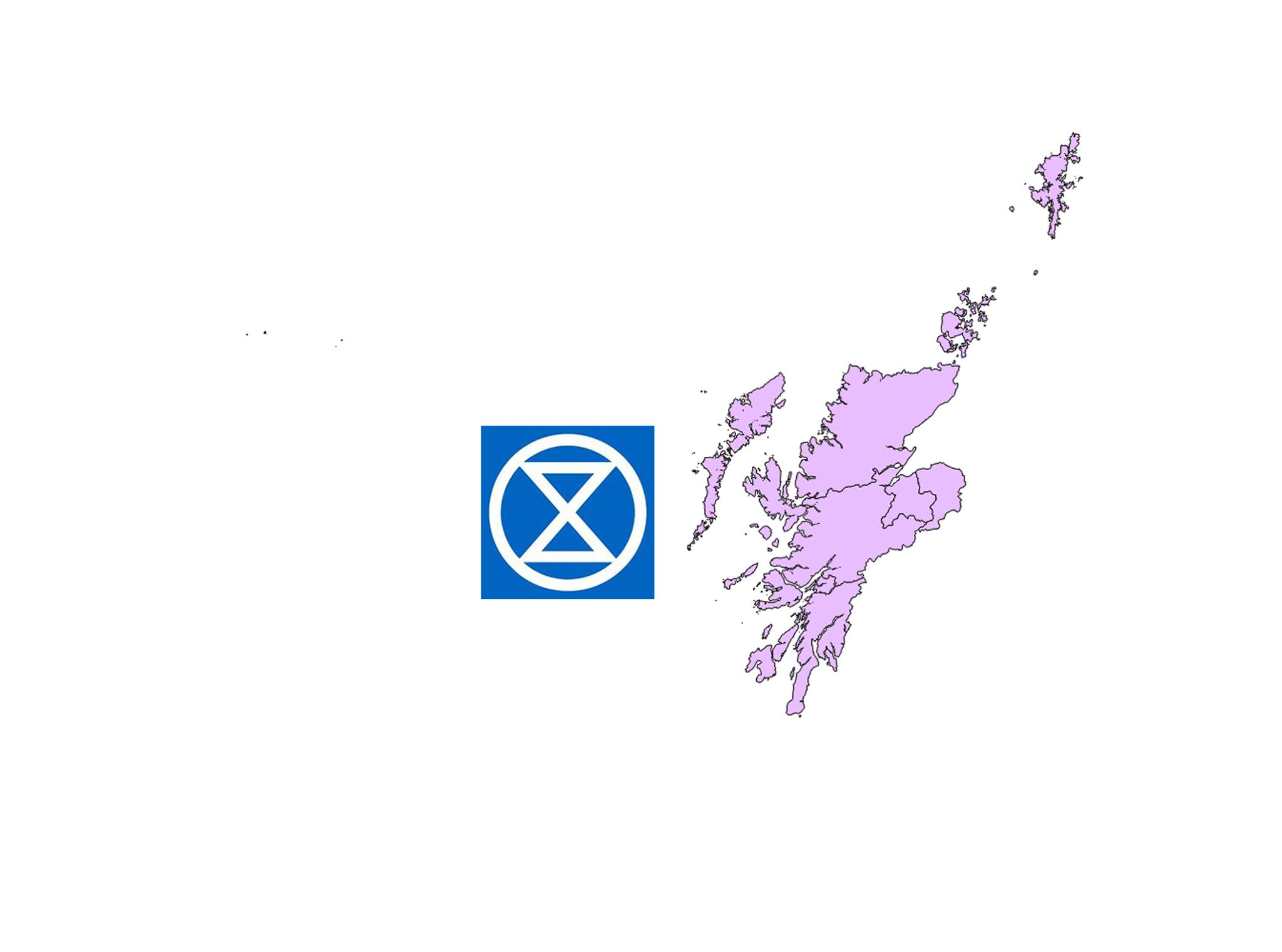 Extinction Rebellion Highlands and Islands